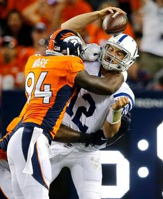NFL defensive end and fan favorite, DeMarcus Ware, is thriving as the new addition to the Denver Broncos!