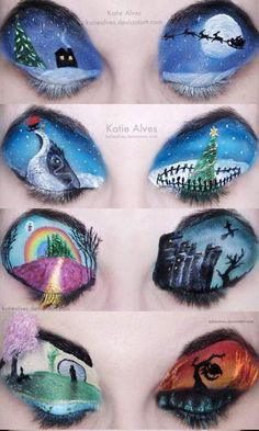by katiealves.deviantart.com #eyes