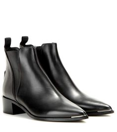 mytheresa.com - Jensen leather ankle boots - Luxury Fashion for Women / Designer clothing, shoes, bags