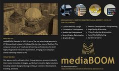 Among the top advertising agencies in CT, NYC and Boston, mediaBoom is holding a top rank in advertising services since 2002, having international recognition, specializes in online digital marketing, web design, and web development.