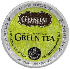 Celestial Seasonings Decaf Green Tea, K-Cup Portion Pack for Keurig K-Cup Brewers, (Pack of Our gentle decaf green tea offers the health benefits and smooth taste of our authentic green tea, minus the caffeine. Includes 2 boxes of 24 K-Cups each. Best Green Tea, Coffee Store, K Cups, Brewing Tea, Detox Tea, Body Detox, Herbal Tea, Keurig