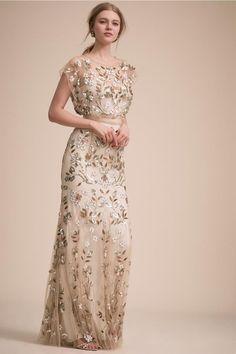 Bhldn Wedding Dress, Wedding Dress Sizes, Fall Wedding Dresses, Wedding Gowns, Lace Wedding, Bridal Dresses, Garden Wedding, Floral Dress Wedding, Spring Wedding