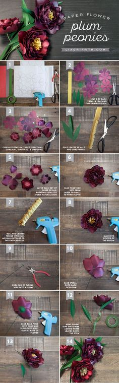 DIY Paper Peony Tutorial by MichaelsMakers Lia Griffith