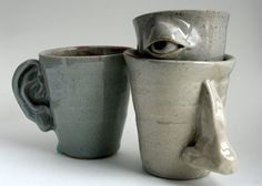 Handmade Mugs by TheNewDeal on Etsy