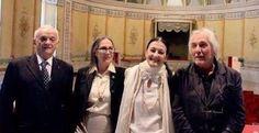 Con Dolores Puthod, Carla Fracci, Enrico Intra e Ferruccio Soleri.