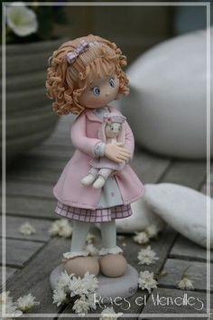 porcelana fria polymer clay fimo pasta francesa masa flexible modelado figurine