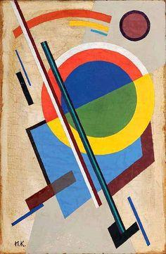 Ivan KLIUN - Suprematist composition, 1915