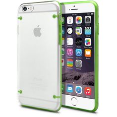 Awesome deal *Free Shipping* iPhone 6 Crystal Clear Green Frame Case, Transparent [Ultra Slim] Thin Durable Hard Armor Glowing Snap-On Cover For Apple iPhone 6 (4.7) with Screen Protector #phone_cases #green_gadgets #phone_gadgets #gift_ideas #clear #cheap #amazon_deals | MagicMobile