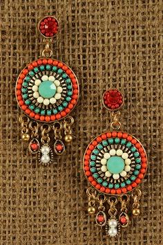 Urbanog.com Bohemian Glow Earrings