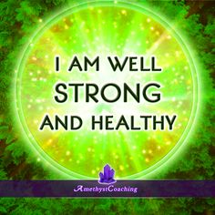 Today's Affirmation: I am Well, Strong and Healthy #affirmation #coaching http://www.loapower.com/10-most-common-blocks-prevents-succeeding-business/