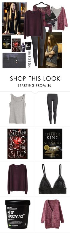 """Violet Harmon inspired#5"" by pinkrabbitlovesdragons ❤ liked on Polyvore featuring H&M, A.P.C. and Chicnova Fashion"