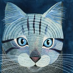Kitty No.4 by Geninne on Etsy