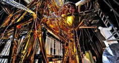 NASA - The Webb Telescope's 'Golden Spider'
