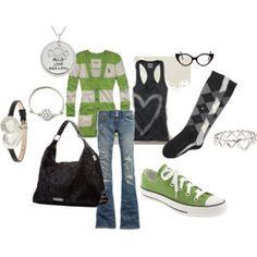 Cute green style