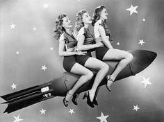 vintage rocket ride - Google Search