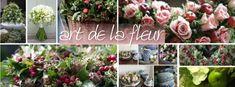'Art de la fleur ' | Krans en bloemstuk in 1 !