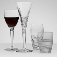 Buy Jasper Conran for Waterford Crystal Strata Glassware Online at johnlewis.com