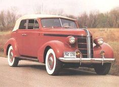 1937 Pontiac Deluxe Eight Convertible Sedan