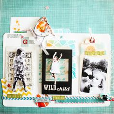 Scrapbook layout: Scrapmanufaktur