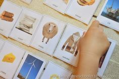 Free Natural Resources and their Products Cards from The Pinay Homeschooler