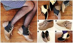 Color Block | 14 DIY Boots That Were Made For Walking
