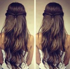 Braided Hairstyle #hairstyle #hair #long hair #tutorial
