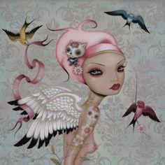 """Messengers"" artist: Caia Koopman"