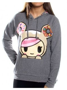 I love tokidoki, but they're so expensive :(  Donutella Popping Hoodie | tokidoki