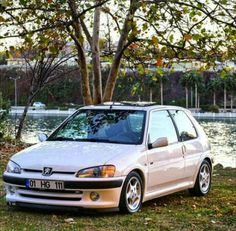 106 GTI White Peugeot, Corvette, Cars And Motorcycles, Hatchbacks, Picture Ideas, Pug, Vehicles, Engine, Pictures