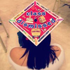 education major graduation cap #graduation #capideas #classdismissed