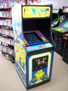 Ms. Pacman for the game room.