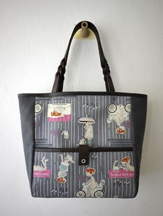 artchala handmade: A Little Girl's Diary Tote Bag - SOLD