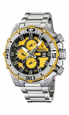 NEW Festina Chronograph Bike TOUR DE FRANCE 2012 Men's Watch F16599/5 Festina. $281.22. Save 33% Off!