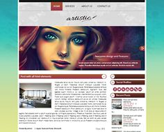 Artistic Theme WordPress theme