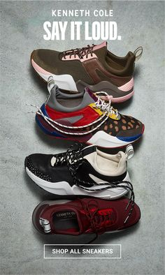 debfe9894 Introducing the Kenneth Cole Sneaker Shop — there is no cure for a sneaker  obsession.
