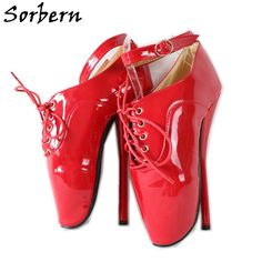 Details about  /High Heels Big Stiletto Crossdresser Drag Queen Gold Red Ankle Strappy Shoes