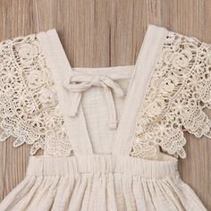 Vintage Summer Lace Ruffles Baby Dress - Baby Girl Dress - Ideas of Baby Girl Dress - Vintage Summer Lace Ruffles Baby Dress Dresses Kids Girl, Kids Outfits, Baby Dresses, Dress Girl, Baby Outfits, Vintage Outfits, Vintage Girls Dresses, Dress Vintage, Baby Dress Patterns