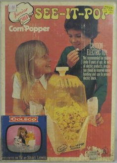 COLECO: 1960s Junior Chef See-It-Pop Corn Popper #Vintage #Toys