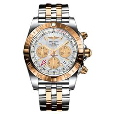 #Breitling #Chronomat 44 GMT Rose Gold & Stainless Steel #Watch