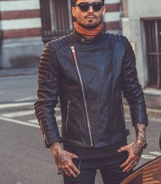 Lucifer Motorcycles - Chaquetas Motorcycle Shop, Motorcycle Jacket, Riders Jacket, Bomber Jacket, Leather Jacket, Jackets, Outfits, Shopping, Fashion