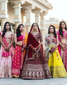 F R I E N D S Who slay together who stay together. what would u Think About Wedding. How to manage this. For best photographer makeup artist and more About wedding. Drop your msg Or Dm us . Wedding Lehnga, Asian Wedding Dress, Designer Bridal Lehenga, Indian Bridal Lehenga, Indian Bridal Outfits, Bridal Lehenga Choli, Indian Designer Outfits, Indian Dresses, Bridal Dresses