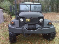 Beasts on Wheels, an AM General M35A2, from 1972, also known as the Deuce and a Half