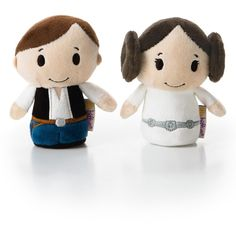 itty bittys Star Wars Hoth Collector Set with Luke Skywalker Han Solo... ❤ liked on Polyvore featuring home, home decor and star wars home decor