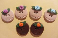 Fimo buttons handmade  Facebook Mamma Fimo