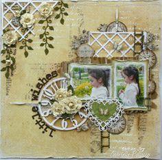 Little Wishes **Cheery Lynn Dies & Maja Design** by Gabrielle Pollacco @2peasinabucket