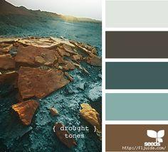 BOŞ VE HOŞ VAKİTLER: Görseller ve renk paletleri 2 color palette