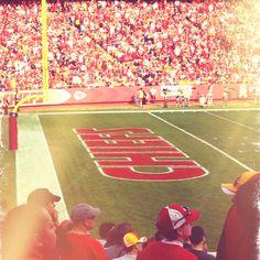 theres nothing like the feeling of seeing a KC game live Kansas City Missouri, Kansas City Chiefs, Chiefs Football, Football Season, Miss Kansas, Arrowhead Stadium, City Pride, University Of Kansas, Team Gear