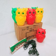 1950s Patio Owl Lights, $80, now featured on Fab.