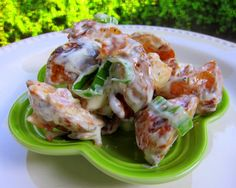 Bacon Ranch Potato Salad (Plain Chicken) -- if I use Hidden Valley Ranch, it'd be completely IC friendly, to boot!