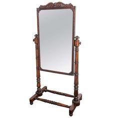Cheval Mirror from the Regency Era | Cheval mirror, Regency era and ...